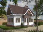 Проект одноэтажного жилого дома с  подвалом и мансардой